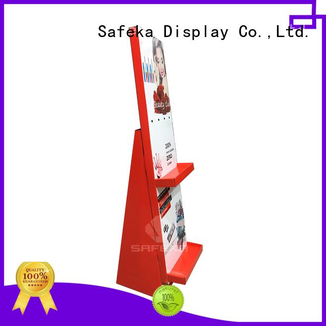 SAFEKA shipper retail product stands bulk order free sample