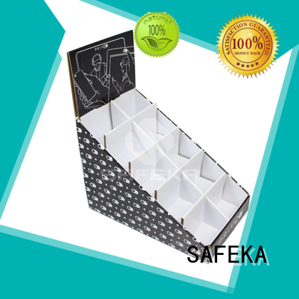 cosmetic retail counter top display SAFEKA company