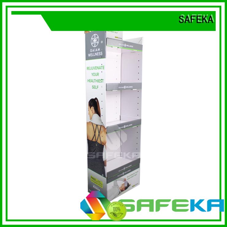 cardboard floor displays ball toys Warranty SAFEKA