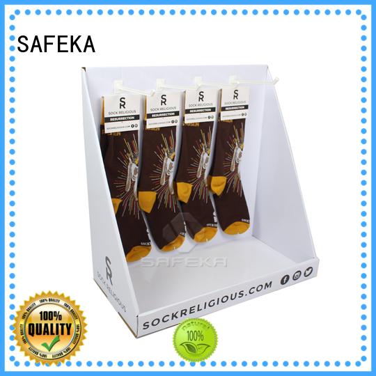 SAFEKA facial table top display free sample for wholesale