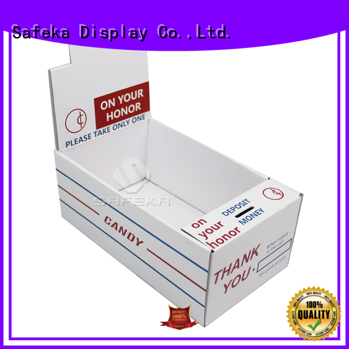 SAFEKA top-selling counter display promotional for wholesale