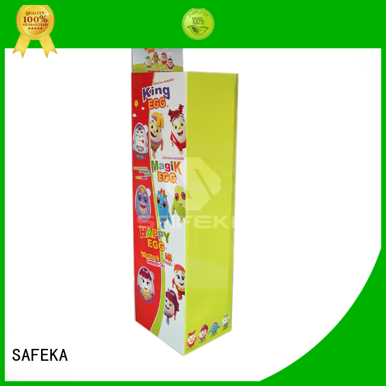 SAFEKA Brand pallet leds dump bin display manufacture