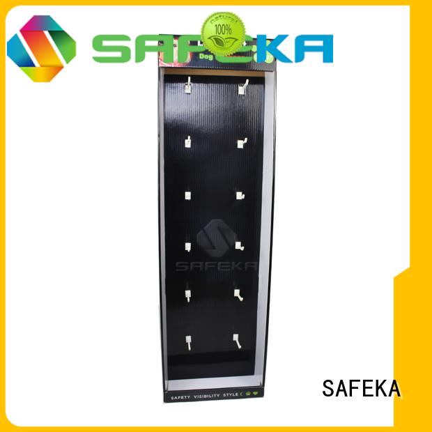 SAFEKA peg supermarket shelving goods-promoting for customization