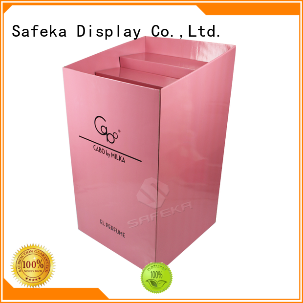 Pop Display Case Carton Retail Display Bins for Cosmetics SD1907