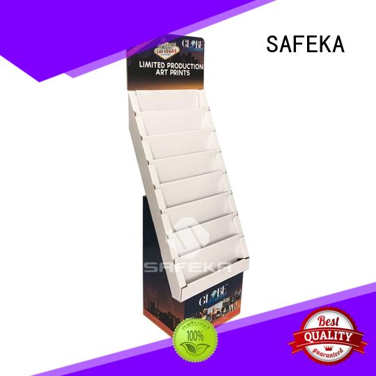 printing materials standing floor display necessities SAFEKA