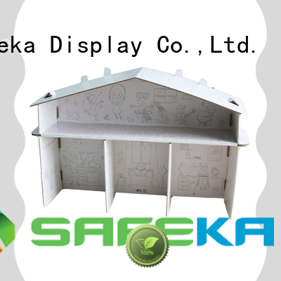 SAFEKA personalised cardboard display stands free delivery at discount