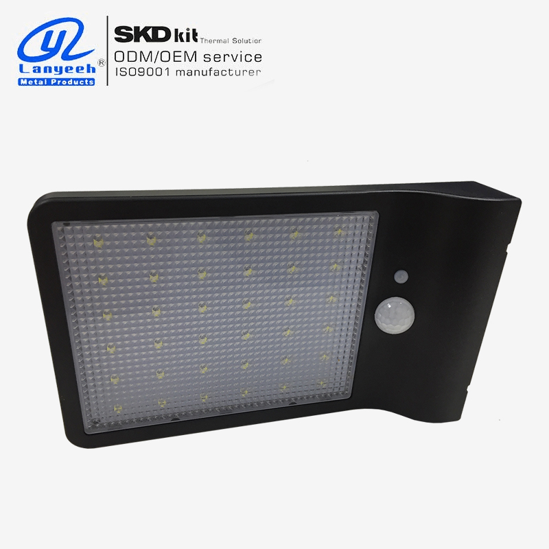 powered lights for Solar led wall light