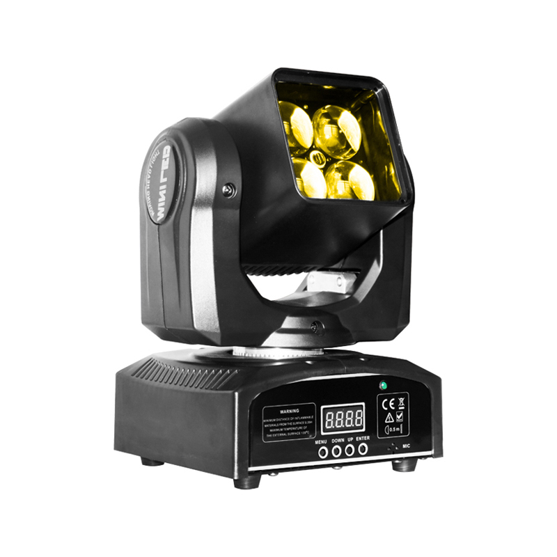 Moving Head Wash LED_M WASH 420Z 4pcs 50W RGBW 4-in-1  LED ZOOM WASH Light